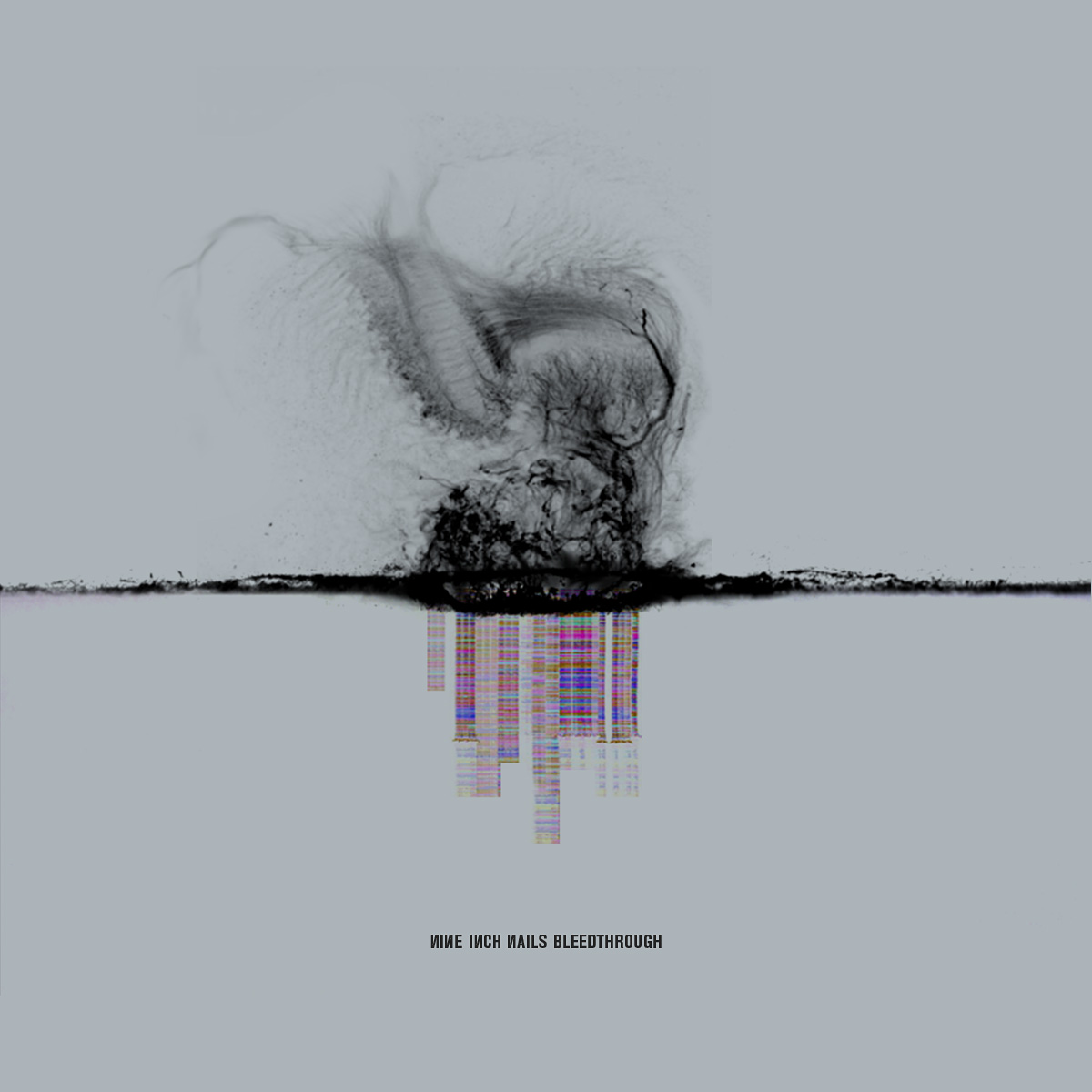 Working Title Bleedthrough Concept Artwork For Nine Inch Nails